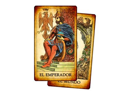 Tarot de los Juegos de la Corte - Arcanos Mayores