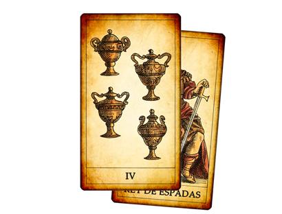 Tarot de los Juegos de la Corte - Arcanos Menores