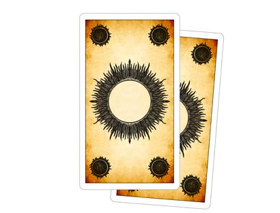 Tarot de los Juegos de la Corte - Reverso de las Cartas