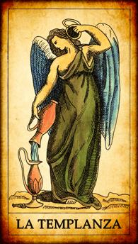 """Carta del Tarot """"La Templanza"""""""