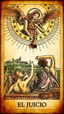 """Carta del Tarot """"El Juicio"""""""