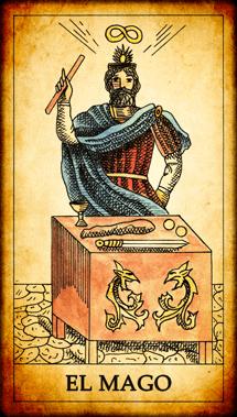"""Carta del Tarot """"El Mago"""""""