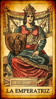"""Carta del Tarot """"La Emperatriz"""""""