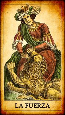 """Carta del Tarot """"La Fuerza"""""""