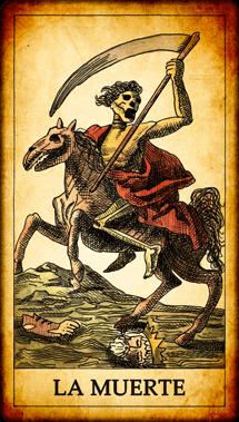 """Carta del Tarot """"La Muerte"""""""