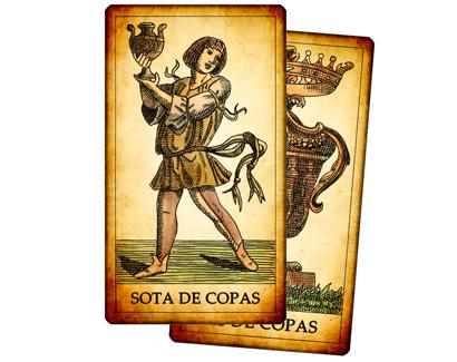 Cartas de Copas del Tarot