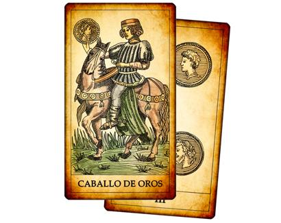 Cartas de Oros del Tarot