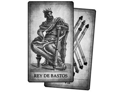 Cartas de Bastos del Tarot