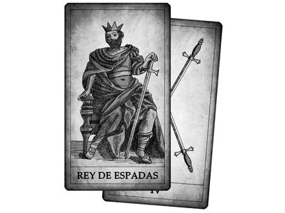 Cartas de Espadas del Tarot