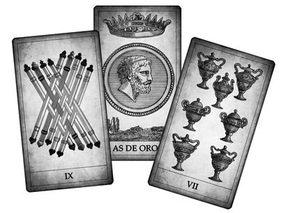 Cartas Numeradas del Tarot